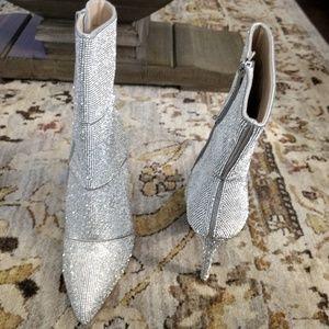 Steve Madden sz 10 Winona Rhinestone boots